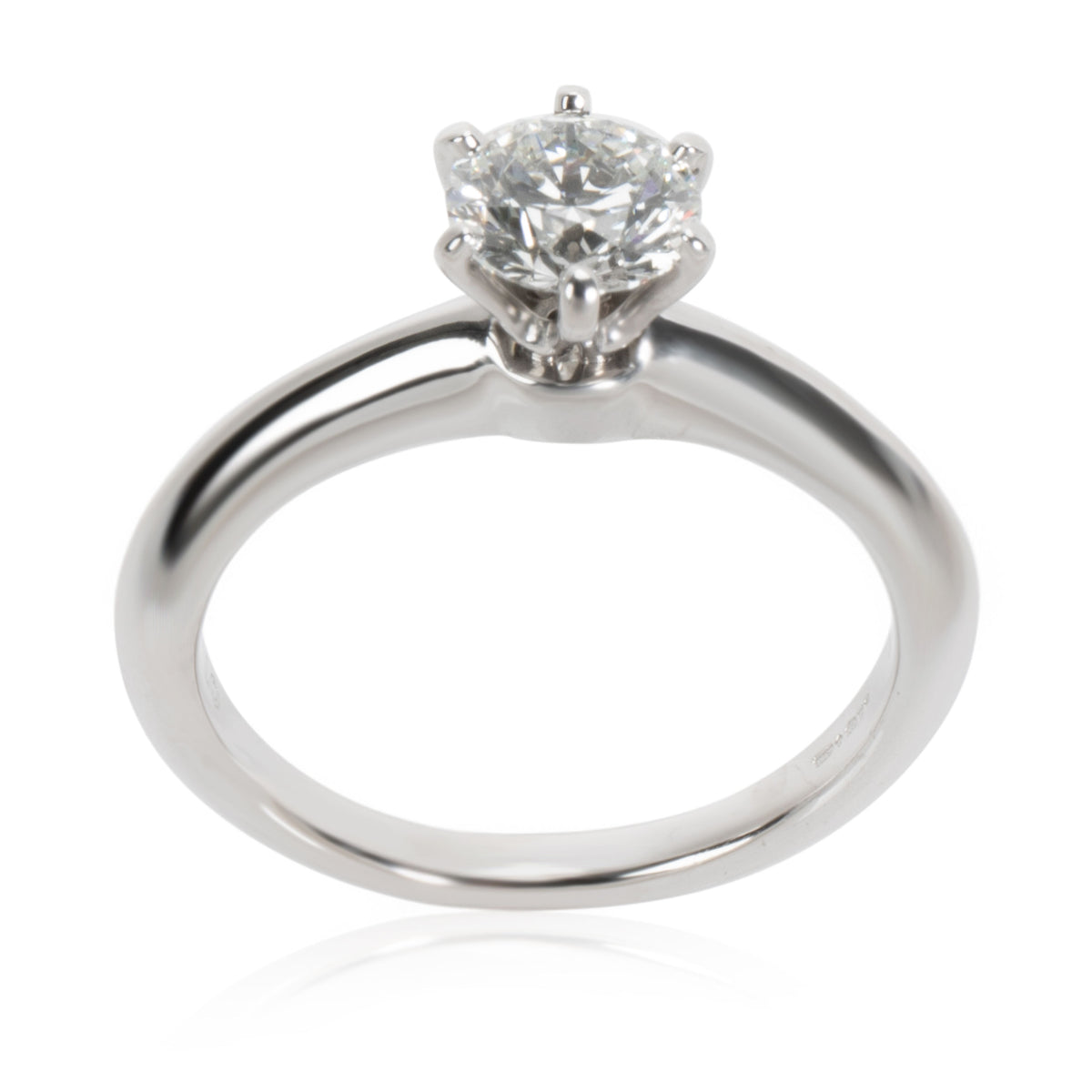 Tiffany & Co. Diamond Engagement Ring in Platinum (0.71 ct E/VVS2)