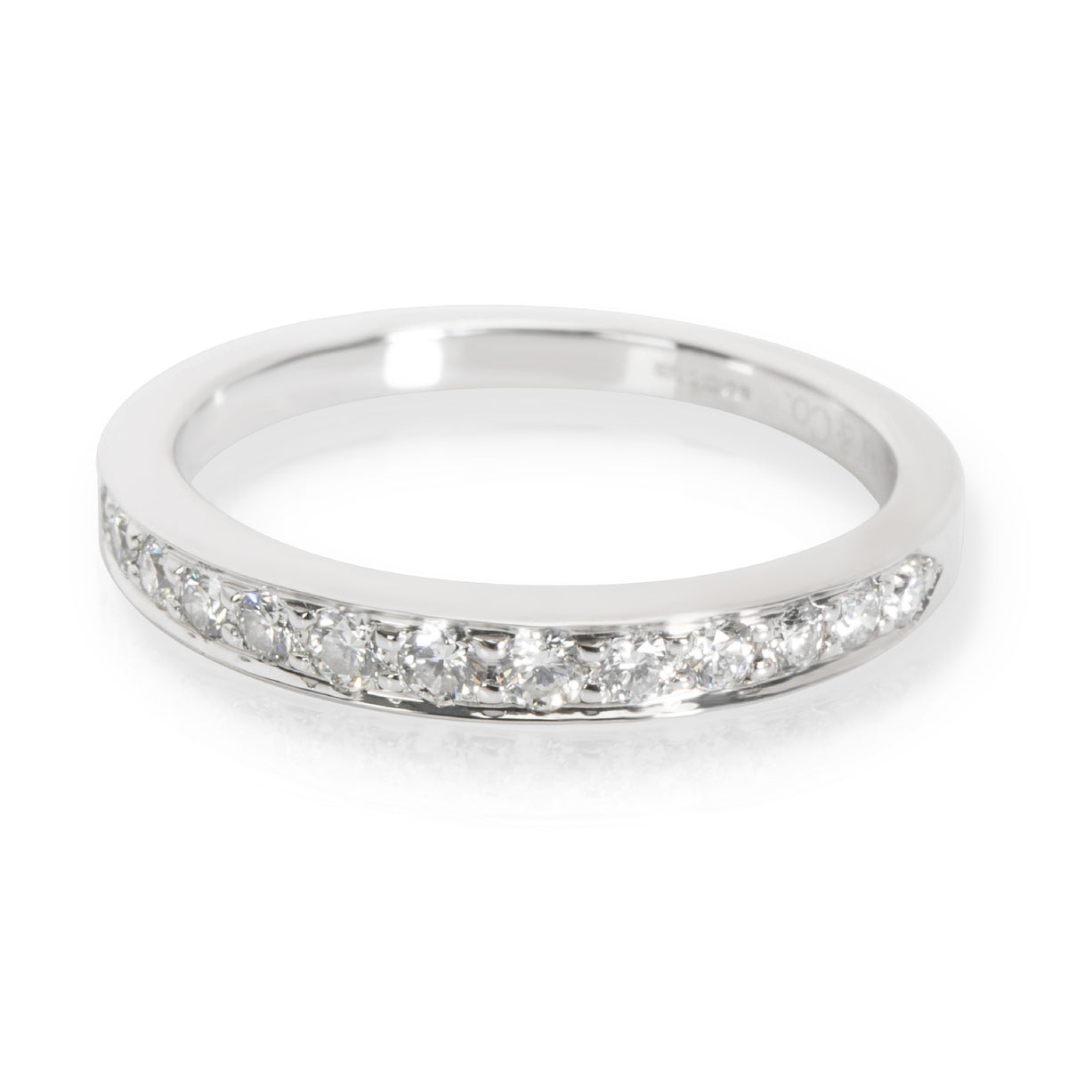Tiffany & Co. Channel Set Diamond Band in Platinum 0.24 CTW