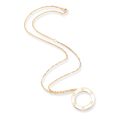 Cartier Love Necklace in 18K Yellow Gold