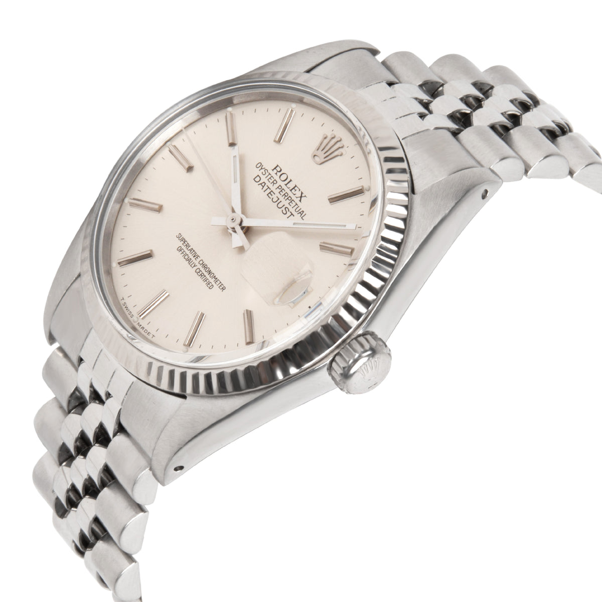 Rolex Datejust 16014 Men's Watch in  Stainless Steel