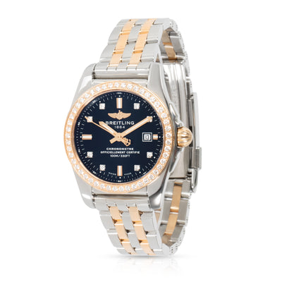 Breitling Galactic 29 C72348531B1C1 Women's Watch in 18kt Stainless Steel/Rose G