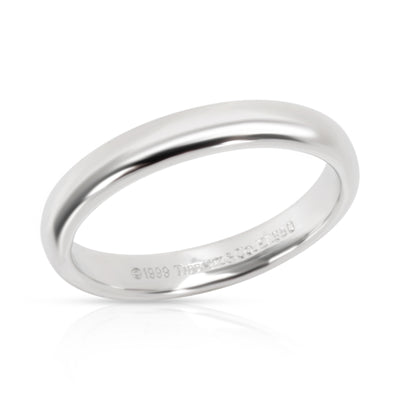 Tiffany & Co. Classic 3mm Wedding Band in  Platinum