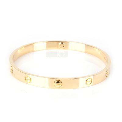 Cartier Love Bracelet in 18K Yellow Gold Size 21