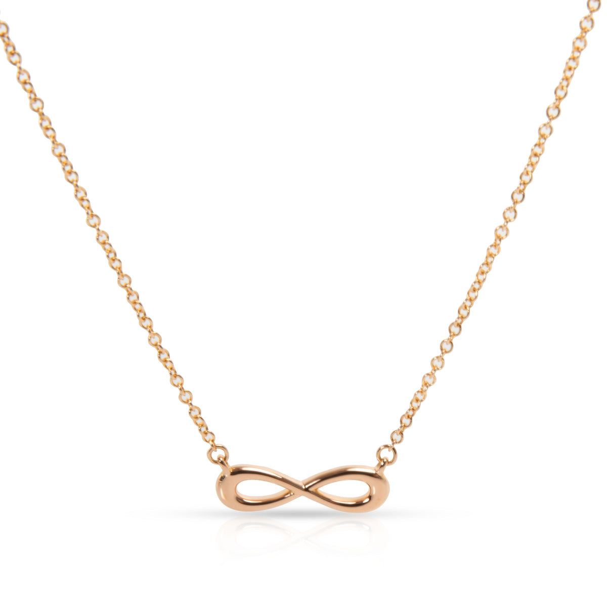 Tiffany & Co. Infinity Necklace in 18K Rose Gold