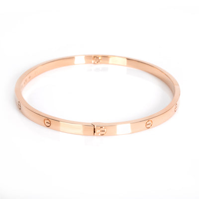Cartier Love Bracelet Small in 18K Rose Gold (Size 20)