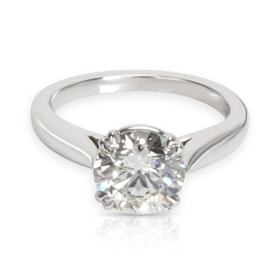 Harry Winston Diamond Engagement Ring in  Platinum GIA Certified F VS1 1.61 CTW