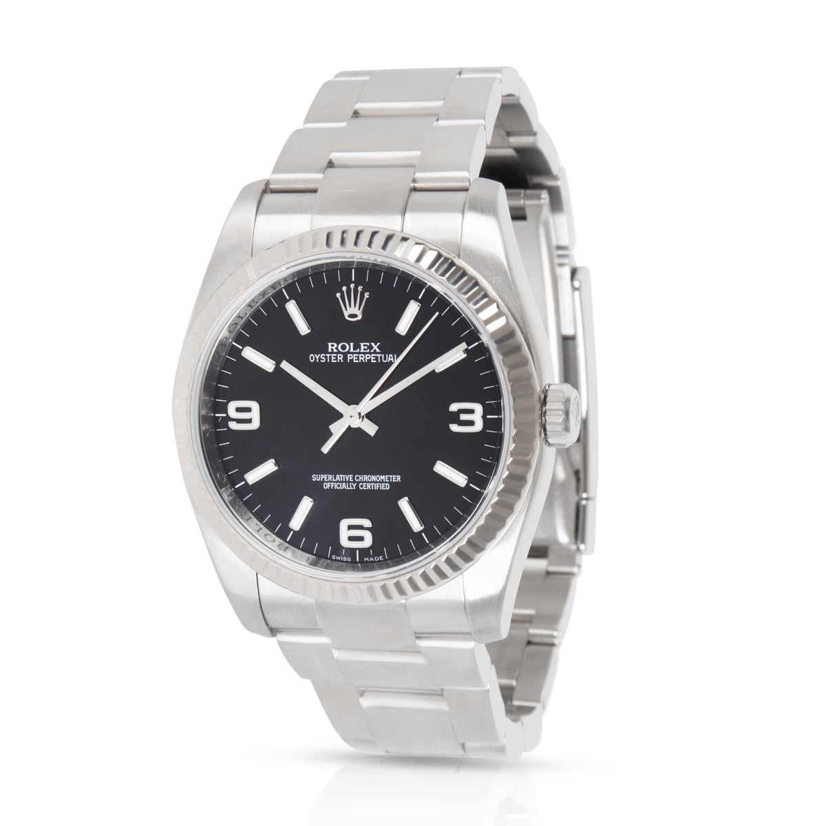 Rolex Oyster Perpetual 116034 Men's Watch in  Stainless Steel