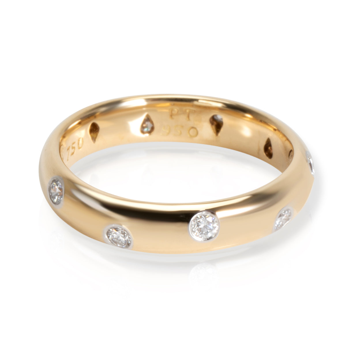 Tiffany & Co. Etoile Diamond Band in 18K Yellow Gold 0.22 CTW