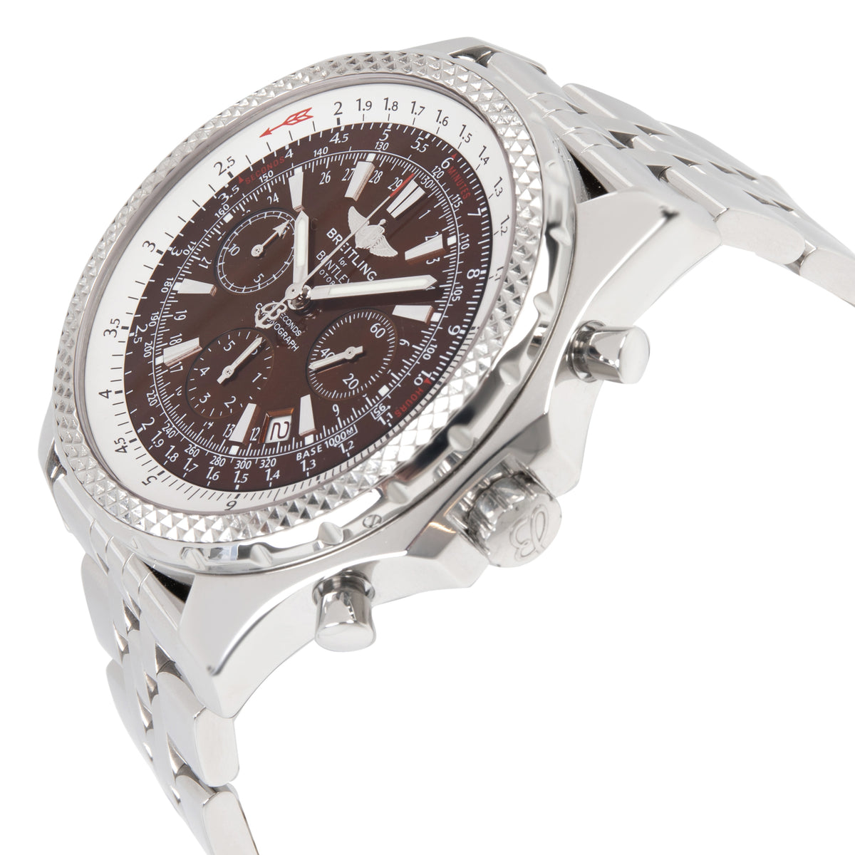 Breitling Bentley A25362 Men's Watch in  Stainless Steel
