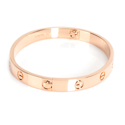 Cartier Love Bracelet in 18K Rose Gold
