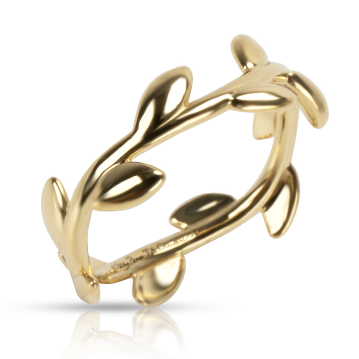 Tiffany & Co. Paloma Picasso Olive Vine Ring in 18K Yellow Gold