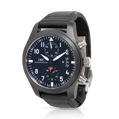 IWC Top Gun IW388001 Men's Watch in  Ceramic