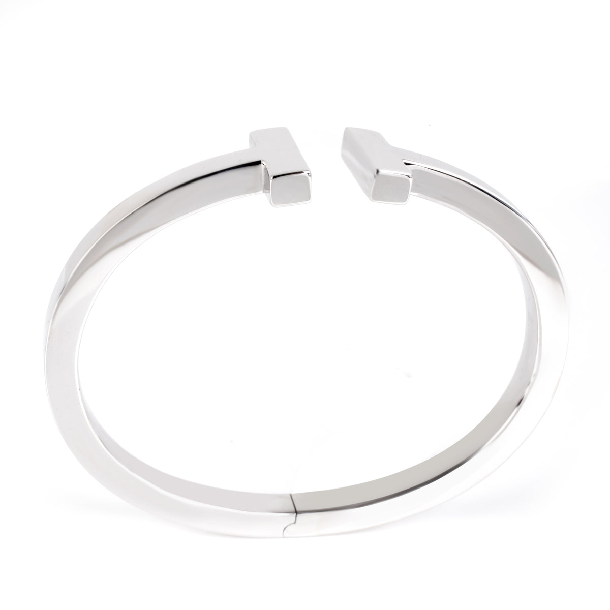 Tiffany & Co. Tiffany T Bangle in 18K White Gold