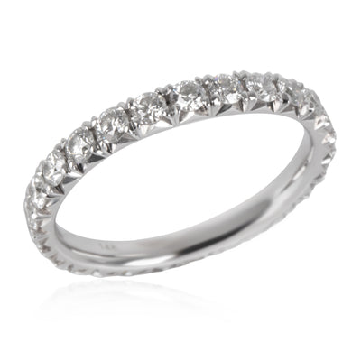 Blue Nile Diamond Eternity Band in 14K White Gold 1.00 CTW