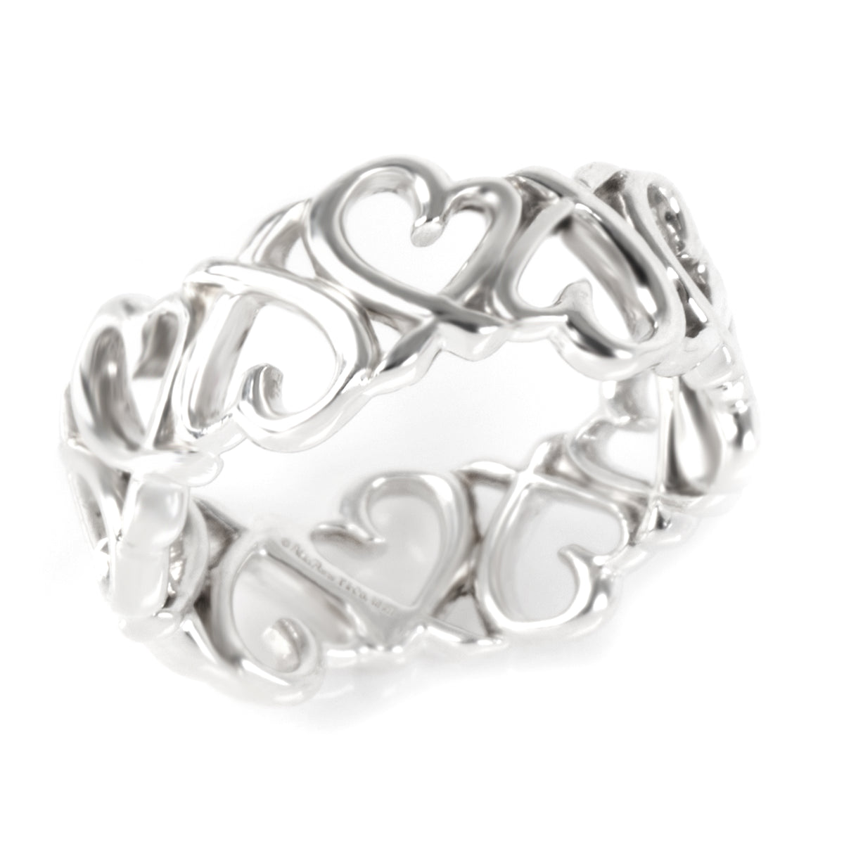 Tiffany & Co. Paloma Picasso Loving Heart in  Sterling Silver