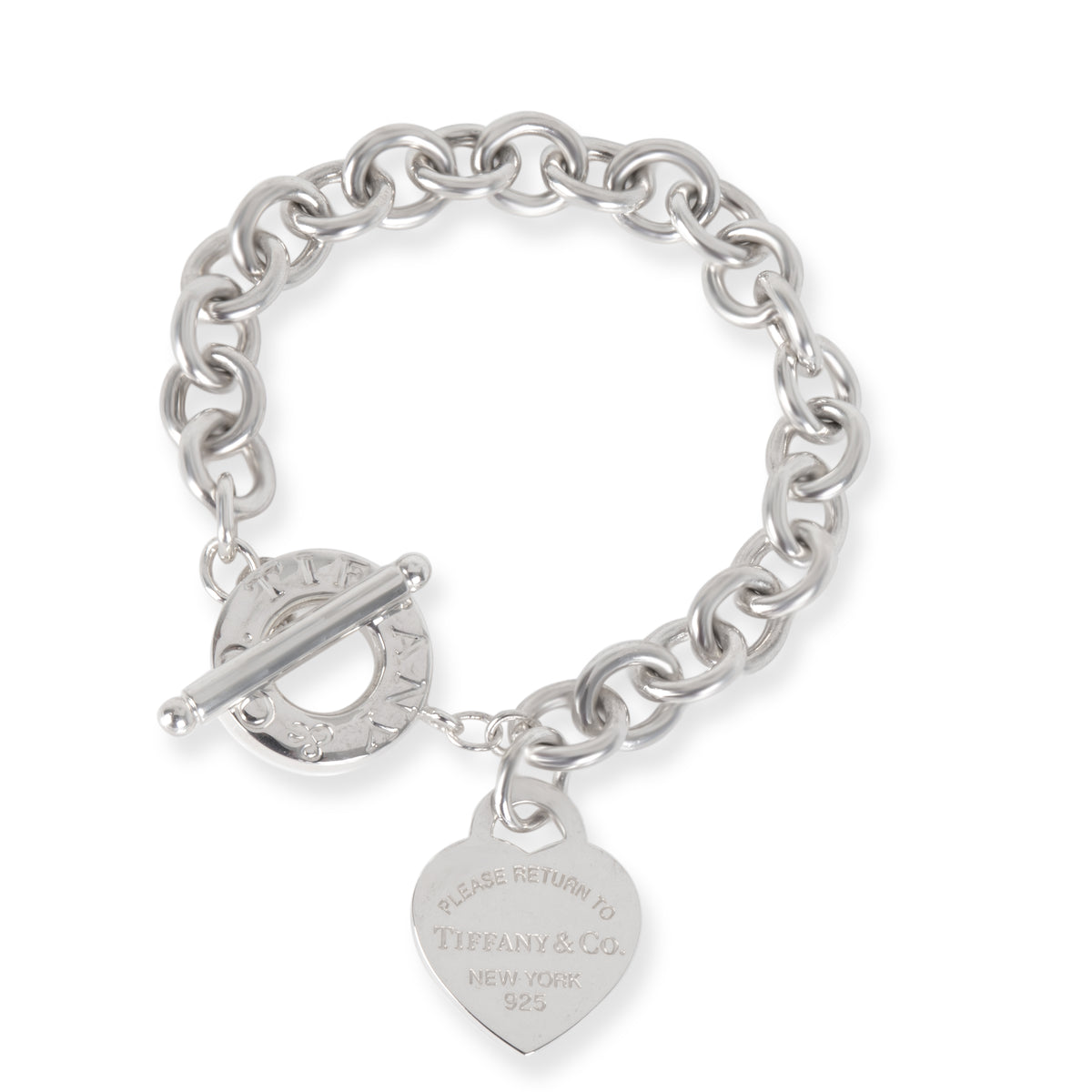 Tiffany & Co. Heart Tag Return to Tiffany Bracelet in  Sterling Silver