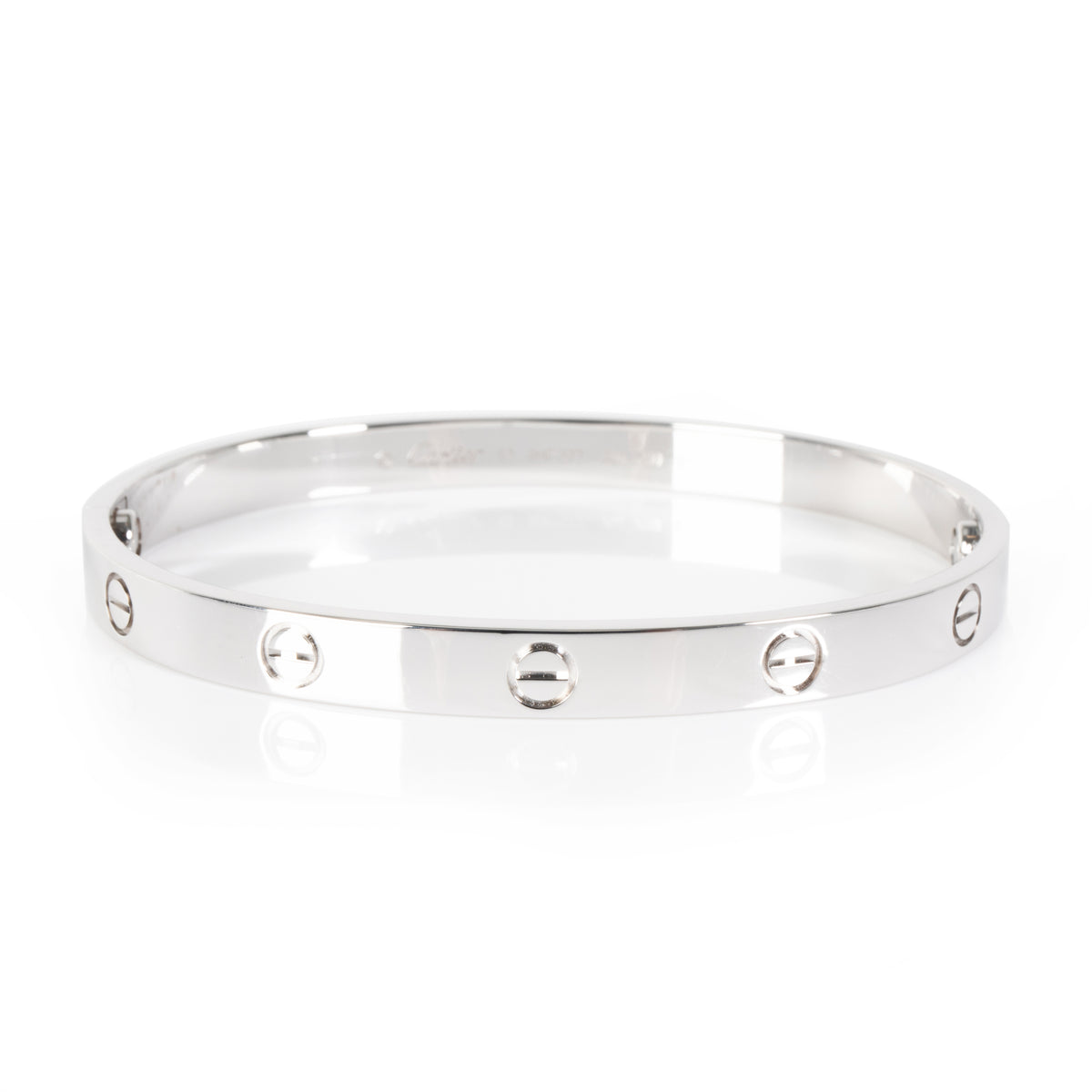 Cartier Love Bangle in 18K White Gold
