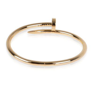 Cartier Juste un Clou Bracelet in 18K Yellow Gold Size 17