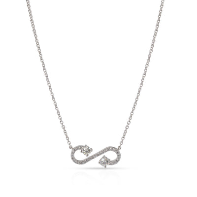 Tiffany & Co.  Enchant Diamond Necklace in  Platinum 0.23 CTW