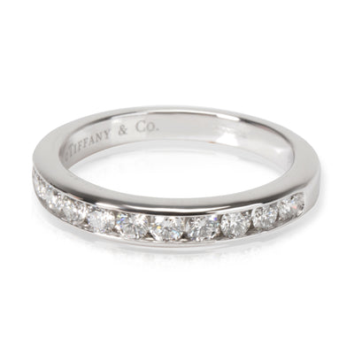 Tiffany & Co. Channel Set Diamond Wedding Band in Platinum 0.33 CTW
