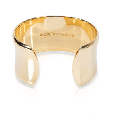 Tiffany & Co. 1837 Wide Cuff in 18K Yellow Gold