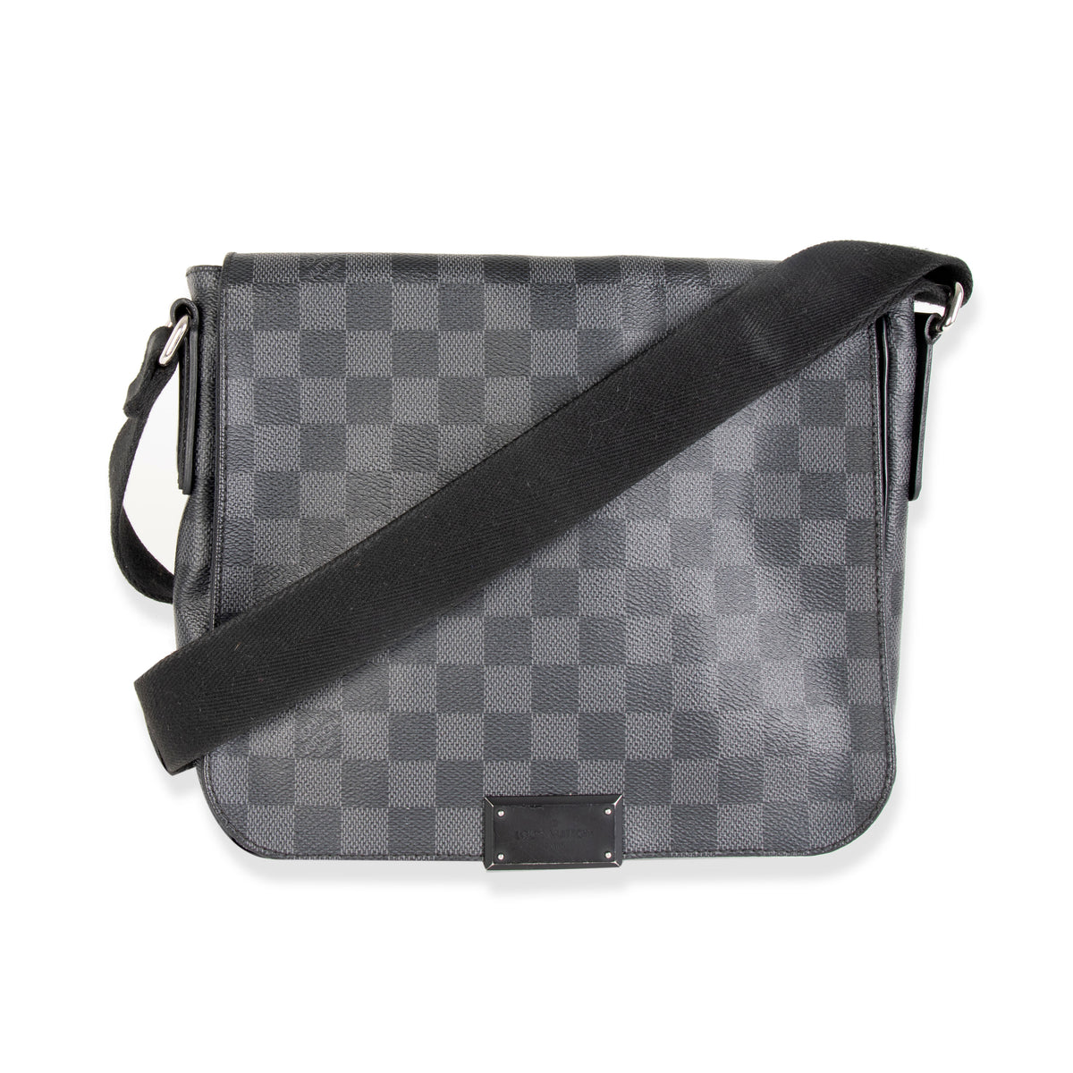 Louis Vuitton Damier Graphite District PM Messenger Bag