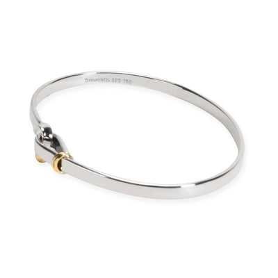 Tiffany & Co. Hook Bangle in 18K Yellow Gold/Sterling Silver