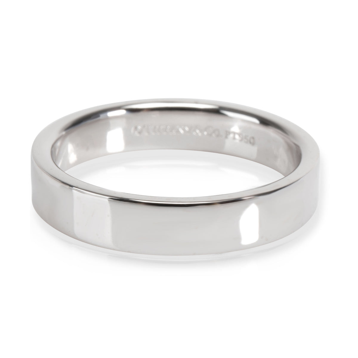Tiffany & Co. Essential Wedding Band in  Platinum 4mm