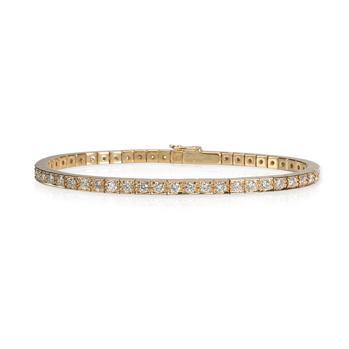 Cartier Lanieres Diamond Bracelet in 18K Yellow Gold 1.80 CTW
