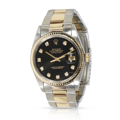 Rolex Datejust 16013 Men's Watch in 14kt Stainless Steel/Yellow Gold