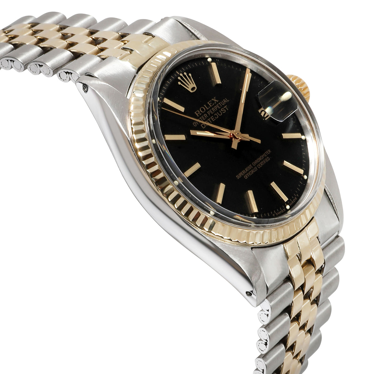 Rolex Datejust 1601 Men's Watch in 14kt Stainless Steel/Yellow Gold