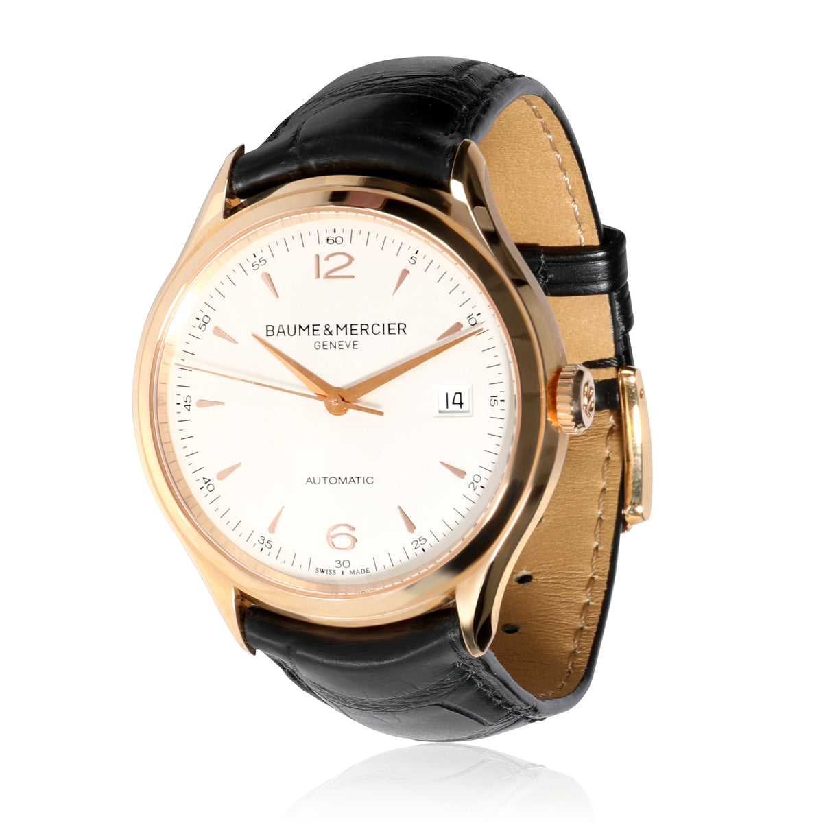 Baume & Mercier Clifton MOA10058 Men's Watch in 18kt Rose Gold