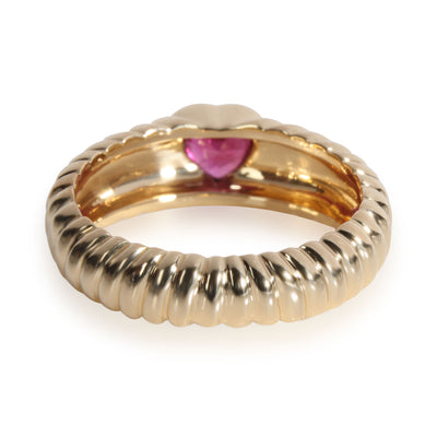 Tiffany & Co. Vintage Ruby Heart Ring in 18K Yellow Gold