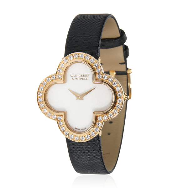 Van Cleef & Arpels Alhambra 136374 Women's Watch in 18kt Yellow Gold