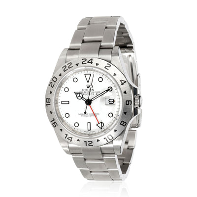 Rolex Explorer II 16570 Men's Watch in  Stainless Steel