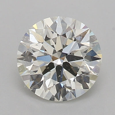 GIA Certified Round cut, K color, SI1 clarity, 0.80 Ct Loose Diamond