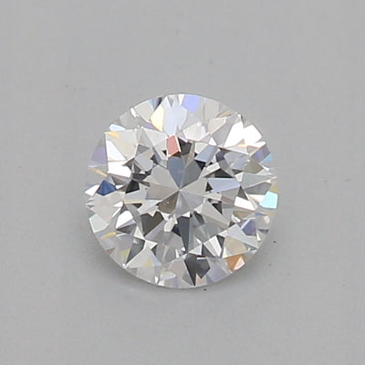 GIA Certified 0.30 Ct Round cut D VVS2 Loose Diamond