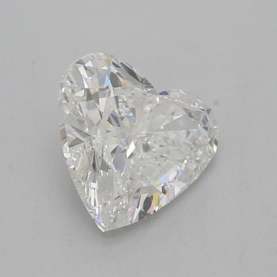 GIA Certified 0.96 Ct Heart cut F SI2 Loose Diamond