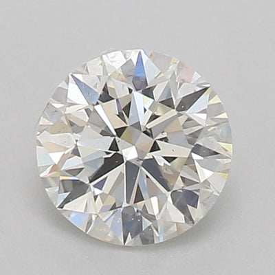 GIA Certified Round cut, J color, SI1 clarity, 0.60 Ct Loose Diamond
