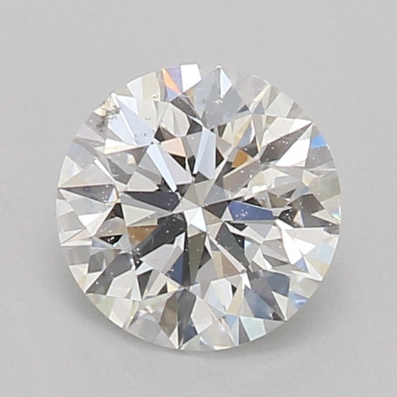 GIA Certified 0.58 Ct Round cut F SI1 Loose Diamond
