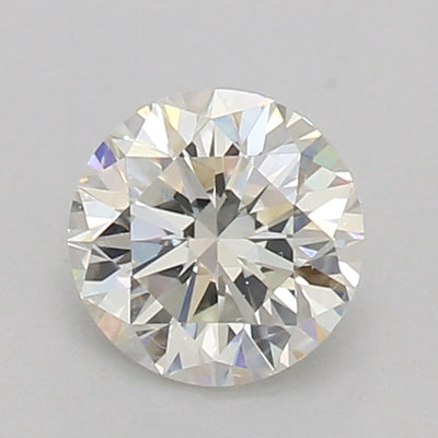 GIA Certified 0.50 Ct Round cut J VVS2 Loose Diamond