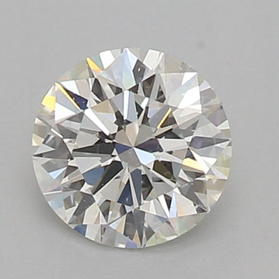 GIA Certified 0.54 Ct Round cut H IF Loose Diamond