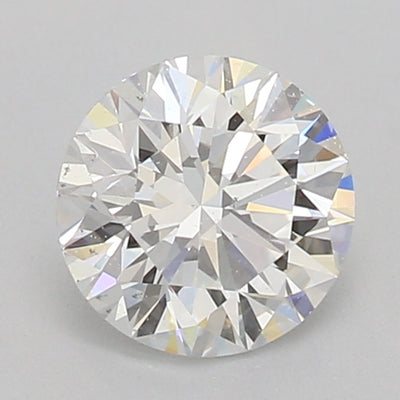 GIA Certified Round cut, F color, VS2 clarity, 0.65 Ct Loose Diamond