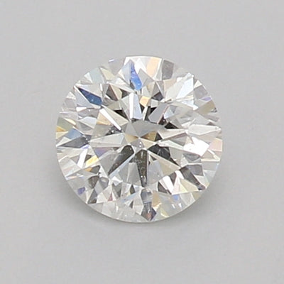 GIA Certified 0.33 Ct Round cut G I1 Loose Diamond