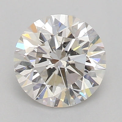 GIA Certified Round cut, H color, SI1 clarity, 0.72 Ct Loose Diamond