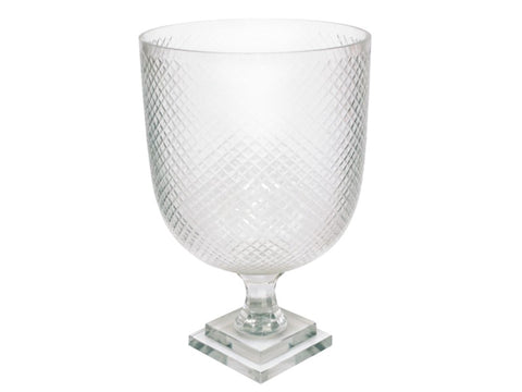 Diamond Cut Goblet Vase #11131500