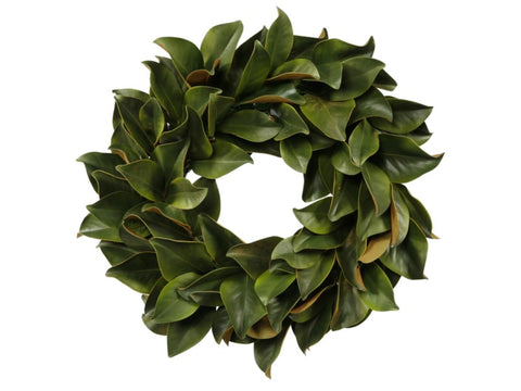 WREATH MAGNOLIA LEAF 24''  #1P4094.GROO
