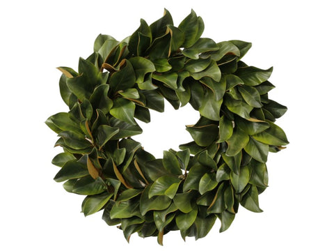 WREATH MAGNOLIA LEAF 30'' #1P4095.GROO