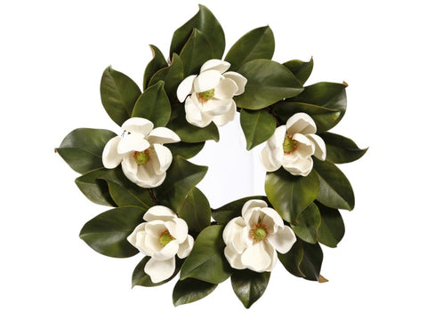 WREATH MAGNOLIA 16''  #1P4206.WHOO