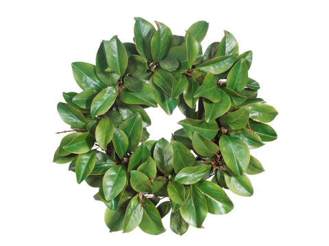 MAGNOLIA LEAF TWIG WREATH #1P5825.GROO